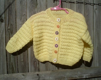 Sweater for a little girl