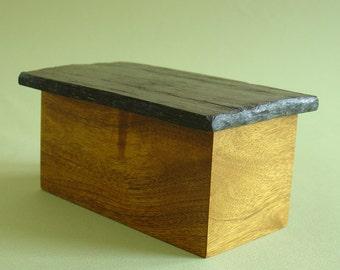 Midnight - Trinket Box in Ebony and Fruitwood