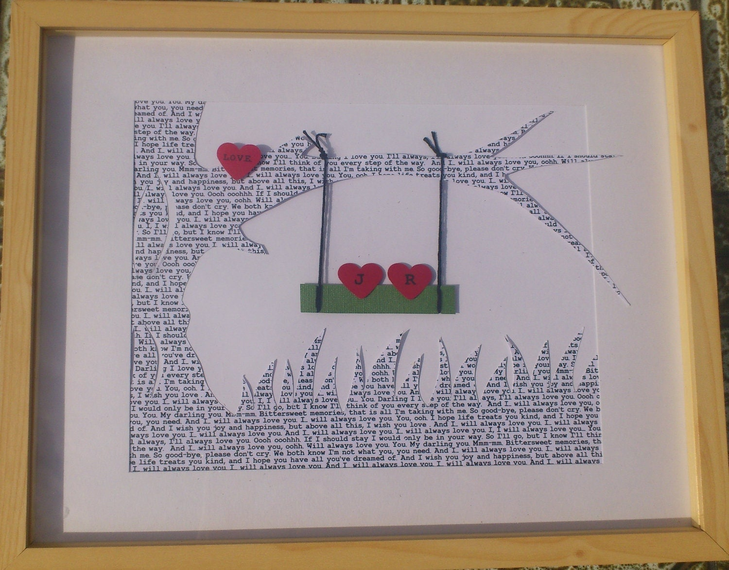 Wedding Gift Personalised: Personalized Wedding Gift For Couples Song Lyrics