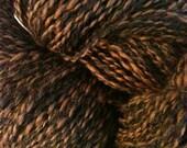 Misty Mountain Farm Prime Alpaca Yarn- Brown/Black Tweed - 665 Yards DK Weight