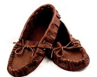 Leather Moccasin Shoes (custom)