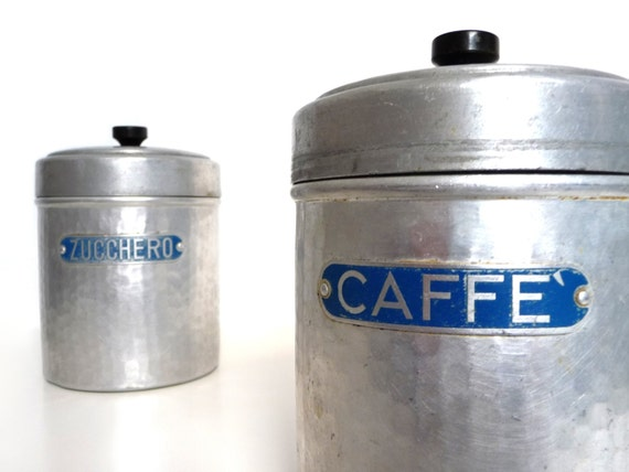 vintage italian kitchen canister set aluminum and bakelite italian ceramic kitchen canisters kitchen canisters