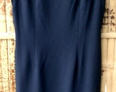 Virgo Sexy Black Sheath Dress with silver metallic highlights                       Size 10