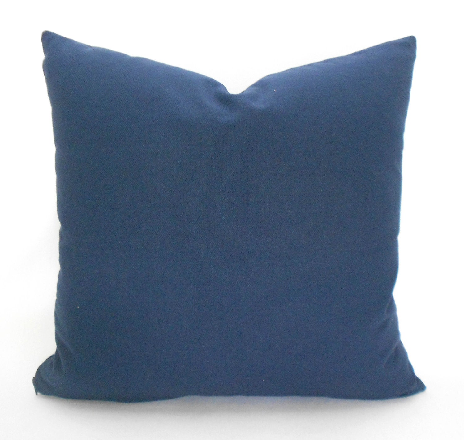 Throw Pillow Cover Measurements : Navy Blue Pillow Covers ANY SIZE Decorative Pillow Cover Navy