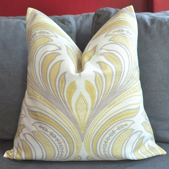 ON BOTH SIDES - Pillow Cover - Decorative Pillow Cover - Throw Pillow Cover - 17x17 inch