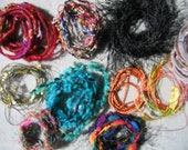 Small Yarn Twist for Scrapbooking, Embellishments, Felting, Etc. 101