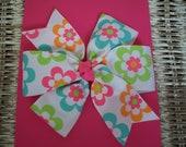 Pinwheel Bow Baby Hair Clips Toddler Hair Clip / item 460