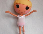 Lalaloopsy Clothes - Leotard - White