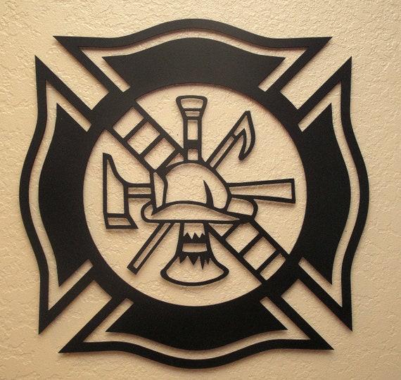 Fireman Maltese Cross