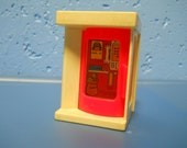 Fisher Price Phone Booth, Fisher Price Village Phone Booth