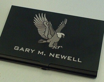 Anodized Aluminum Card Holder