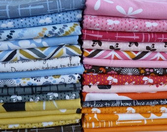 Michael Miller Fabrics Violet Craft Madrona Road Collection 30 Piece Fat Quarter Yard Bundle