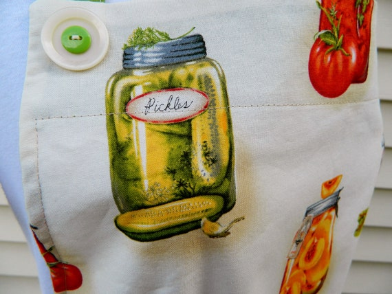 Canned Goods Apron
