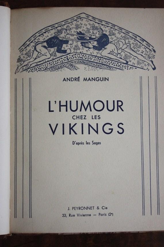 L'Humour Chez Les Vikings bu Andre Manguin
