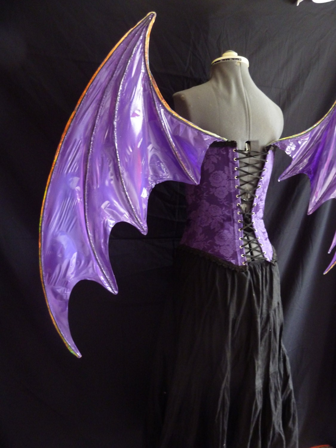 Custom order for Large Dragon Bat Cosplay wings