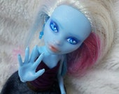 Abbey Bominable OOAK Repaint with handstitched outfit