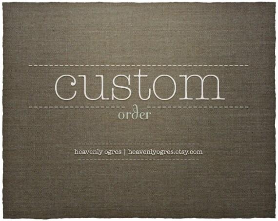 Custom Order For Tayla