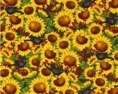 Time to Harvest - Fabric By The Half Yard 18 inches x 44 inches - H