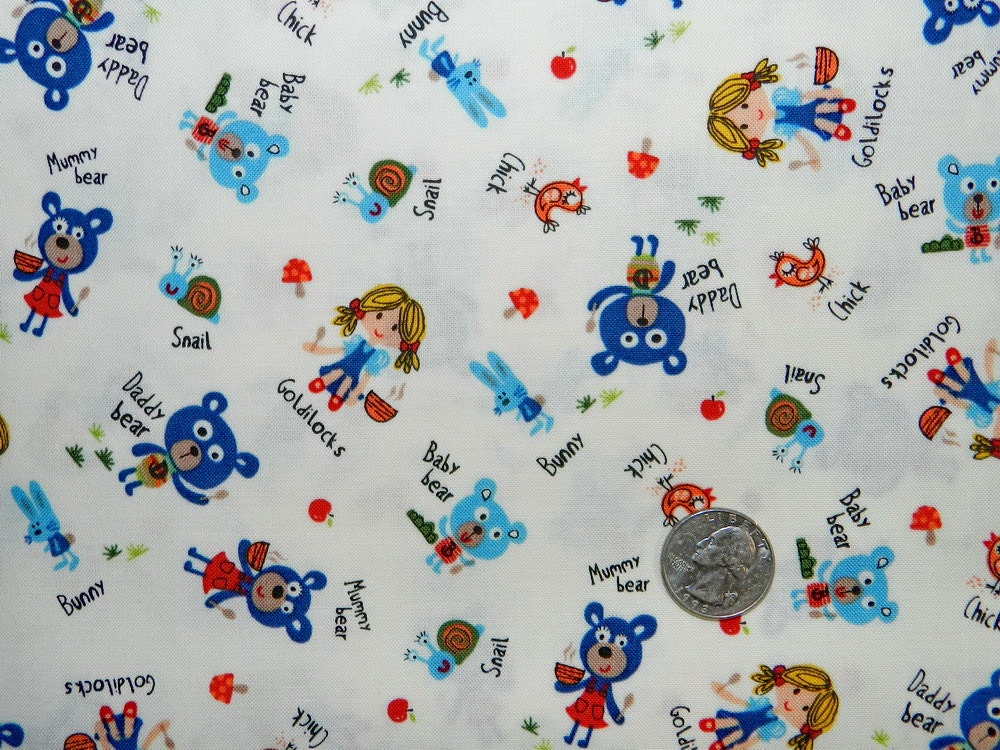 Baby bear fabric by the yard for Baby fabric by the yard