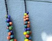 Antique glass beaded necklace - Funky & Ethnic Ancient beads