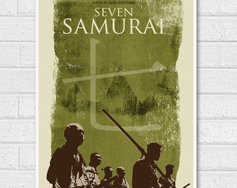 Seven Samurai Movie Poster Print