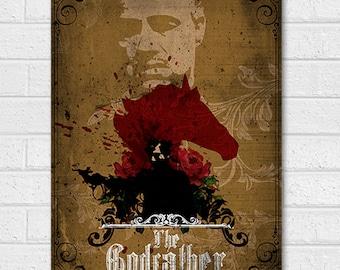 Godfather Movie Poster Print