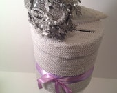 Brooch Bouquet And Pearl Wedding Box