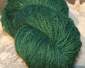 Cedar Green handspun mohair blend organic yarn - 100g (3.5oz)