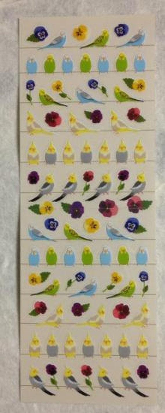 Budgie & cockatiel / Parakeet stickers