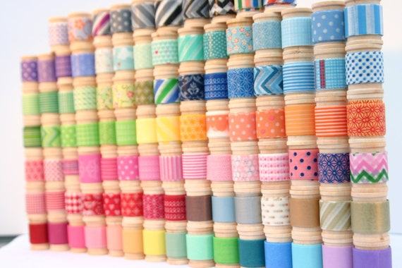 Washi Tape Assortment - 16 yards of your choice (48 feet) - coordinates with Project Life or Erin Condren Planner