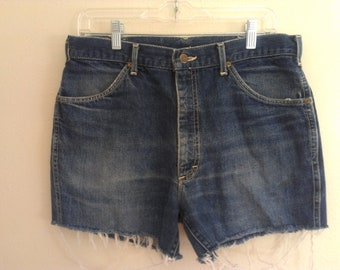80s cutoff shorts large eighties