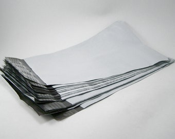100 - White Poly Mailers - 6 x 9