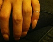 Sterling Silver Top Knuckle ring