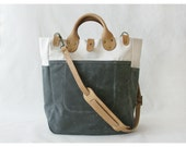Garrison Bag (Natural/Grey)