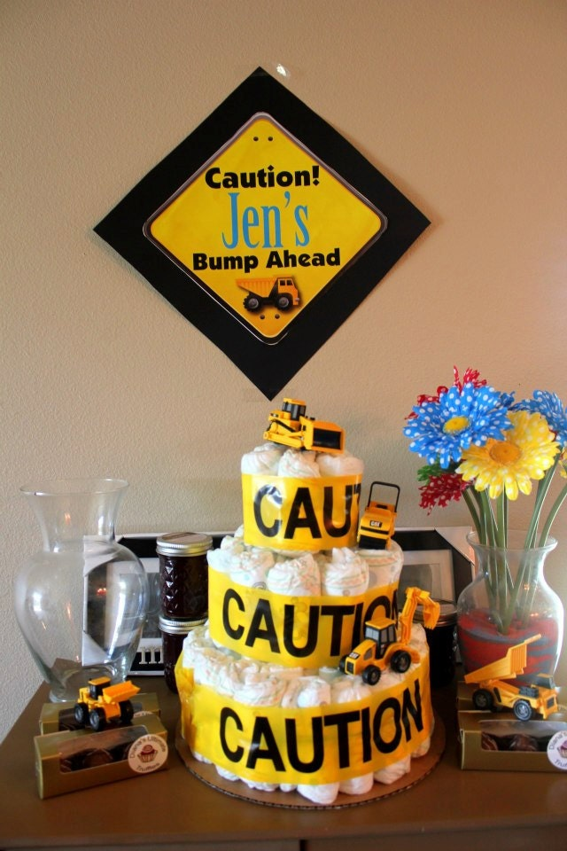 Diy Printable Construction Themed Party Welcome Sign