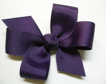 U Pick Color Hair Bow Small Simple Traditional Basic Classic Style Toddler Girl