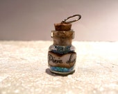 Small Magical Jar of Pixie Dust - 0.5ml Bottle Charm Glitter Necklace