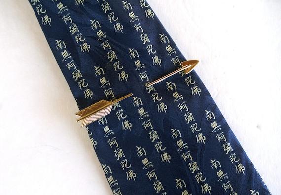 Vintage Arrow Tie Clip by Hickok