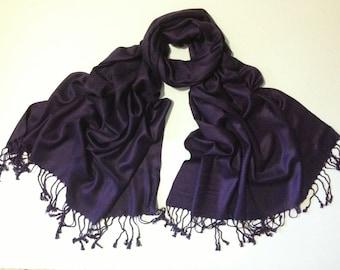 eggplant pashmina scarf,  pashmina, fashion scarf, pashmina scarf, pashmina shawl, scarf, shawl