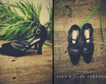 SALE // Studio Buckle Shoes // UK Size 4, Heels