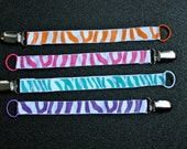 UNIVERSAL Soother Clip- Pacifier Holder- MULTIPLE COLOURS