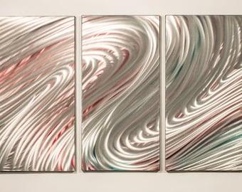 Modern Abstract Painting Metal Wall Art Sculpture Elegant
