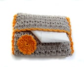 Crocheted Pocket Size Tissue Cover