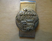 Fabulous Las Vegas Nevada Gold Money Clip