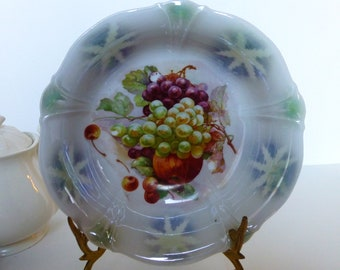 Vintage German Porcelain  Fruit Bowl Reservd for Sandy