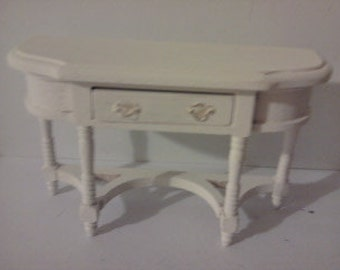 Hall table sideboard painted in colourer of your choice1 12th scale miniature furniture