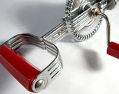 Ekco Egg Beater with Red Bakelite Handle