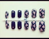 Rose & studs nail set