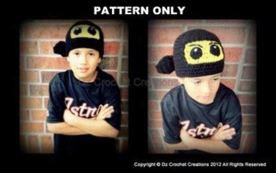 Ninjago Lego Crochet beanie Pattern / Crochet Pattern Ninjago Inspired Beanie / Crochet Pattern / Ninjago / Hat / Beanie / PDF / Pattern