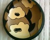 Decorative Painted Bowl